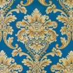 Chateau monogramme cobalt