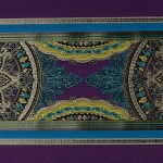 Fortune stripe purple sapphire