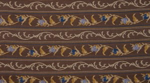 Marie Antoinette blue stripe