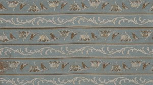 Marie Antoinette dream blue stripe
