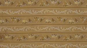 Marie Antoinette gold stripe